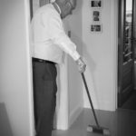 Father of the Bride Cleaning Up