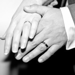 Hands and Rings of Bride and Groom